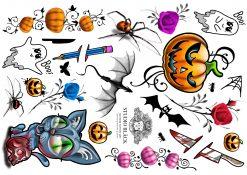 Halloween Tattoo Sheet by Studio Bläck